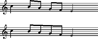 figure musicali scritte